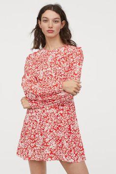 a825c4dcc Speechless Juniors' Printed Puff-Sleeve Dress - Dresses - Juniors ...