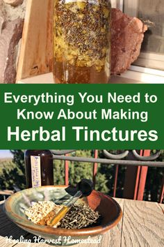 What is a Tincture? (How To Make and Use Herbal Tinctures) — Home Healing Harvest Homestead Cold Home Remedies, Natural Health Remedies, Natural Cures, Natural Healing, Herbal Remedies, Natural Foods, Natural Products, Natural Beauty, Holistic Healing