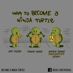 A Short Guide to Become a Ninja Turtle!