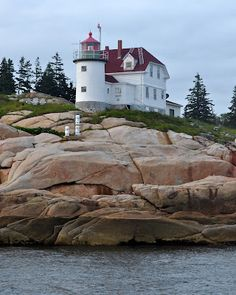 Maine Lighthouses and Beyond: Heron Neck Lighthoouse