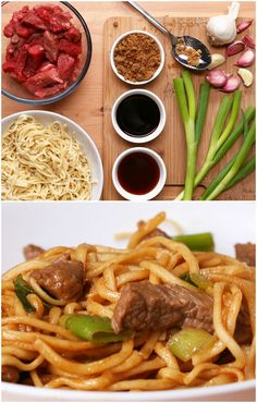 Easy Beef And Garlic Noodles