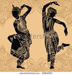 Find indian dance stock images in HD and millions of other royalty-free stock photos, illustrations and vectors in the Shutterstock collection. Dancing Girl Images, Girl Dancing, Dance Paintings, Indian Art Paintings, Indian Drawing, Art Room Posters, Wal Art, Dancing Drawings, Indian Classical Dance