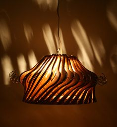 Wood Hangers Lamp in wood lamps uncategorized recycled lamps