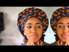 Subscribe here : www.youtube.com/subscription_center?add-user=beautyhauljj this is a quick video of how to tie ankara inform of gele, using 1 yield of ankara...