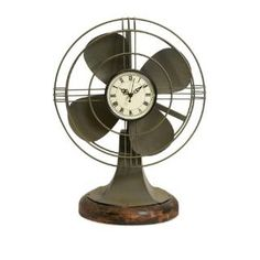 Check out the Imax Worldwide 84143 Thatcher Vintage Fan Clock priced at $70.13 at Homeclick.com.