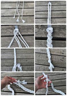 DIY Rope Belt