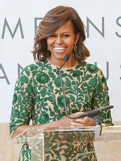 Star Tracks: Tuesday, May 6, 2014 | FIRST CLASS | Before the star-studded Met Gala, First Lady Michelle Obama speaks at the grand opening of the New York museum's Anna Wintour Costume Center on Monday.