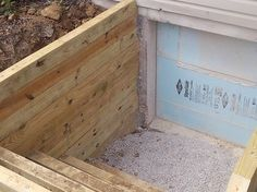 Basement Egress Windows – traditional – spaces – cincinnati – Foundation Builders LLC - All About Garden Basement Window Well, Basement Windows, Concrete Deck, Basement Renovations, Basement Ideas, Egress Window, Basement Lighting, Shade House, Diy Home Repair