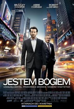 Limitless is a 2011 thriller film directed by Neil Burger and starring Bradley Cooper, Abbie Cornish, and Robert De Niro. It is based on the 2001 novel The Dark Fields by Alan Glynn with the screenplay by Leslie Dixon. The film was released on March 2011 Movies, Hd Movies, Movies To Watch, Movies Online, Movies And Tv Shows, Movie Tv, Film Online, Internet Movies, Limitless Film