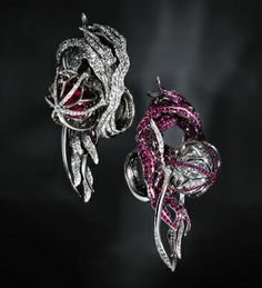 Jack Du Rose Jellyfish Rings