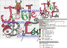 jingle bells chart