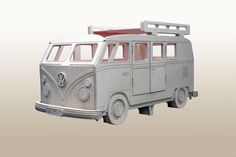Our New VW Camper Van Single bed by Fun Furniture Collection.