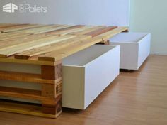 Simple Pallets Bed DIY Pallet Bedroom - Pallet Bed Frames & Pallet Headboards