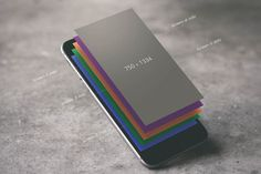 iPhone Floating Layers – Free Mockup
