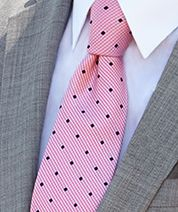 The pop of color against a light grey tux is so refreshing! #menswearhouse #tuxedos