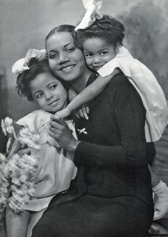 African American Family by Black History Album, via Flickr. It's almost idyllic...