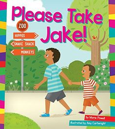 Please Take Jake! (Word Families) by Marie Powell