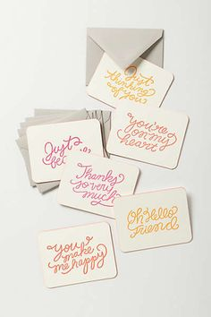 Anthropologie Europe - Every Occasion Notecard Set