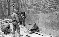 German POWs in La Haye-du-Puits