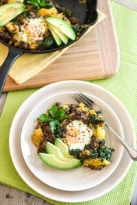 Ground Beef and Butternut Squash Breakfast Skillet Recipe