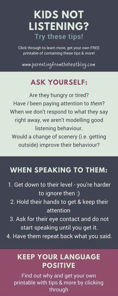 Kids not listening? Your kids will listen if you use these two strategies. Great positive parenting strategies for parents with young kids, toddlers, and preschoolers. #parentingtips