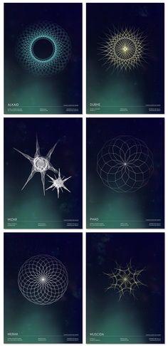 Stars's geometry on Behance