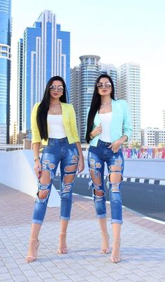 Ripped [[MORE]]Fashion By Laura and Klaudia Badura