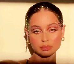 spectrum of human emotion sharmans: Alexa Demie by Raoúl Alejandre Gem Makeup, Makeup Inspo, Makeup Inspiration, Hair Makeup, Makeup Gif, Makeup Bags, Bad Girl Aesthetic, Aesthetic Gif, Aesthetic Makeup