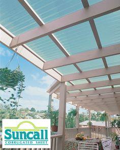 Ampelite (NZ) Suncall Translucent Corrugated Plastic Roofing | Productspec