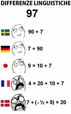 Når man skal forklare det danske talsystem til udlændinge