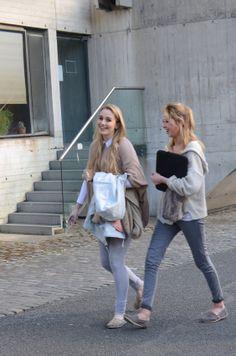 Elegant neutrals on the Trinity campus in Dublin, Ireland #friends #neutrals