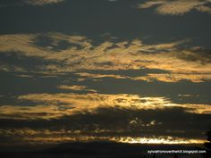 Sylvia From Over The Hill - check out this blog for some fantastic sky shots and wise words.
