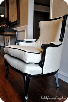 great redo on this chair