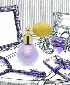 Retro-Modern should be a new category. Delicious Lolita Lempicka Shimmering Powdered Perfume