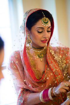 Harnoor And Ankur Wedding Photo By Photographick Studios Punjabi Dress, Punjabi Bride, Punjabi Wedding, Indian Bridal Fashion, Indian Bridal Wear, Bridal Looks, Bridal Style, Indian Dresses, Indian Outfits