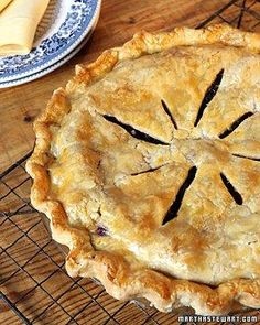 Perfect Blueberry Pie Recipe