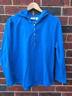 Chico's Turquoise Hooded Blouse Size 2 EUC | eBay Ebay Sale, Hoods, Size 2, Turquoise, Blouse, Cowls, Green Turquoise, Food, Blouses