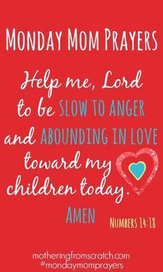 Prayers for Moms motheringfromscratch.com Single Mom Quotes #mom #motherhood