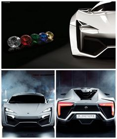 '10 Ridiculously Expensive Car Options' See it to believe it... #LykanHypersport #Diamonds
