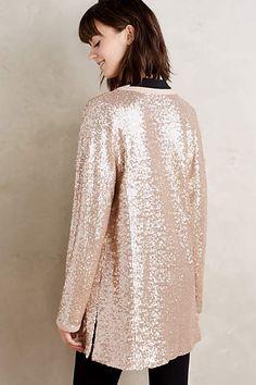 Sequin Shimmer Cardigan - anthropologie.com