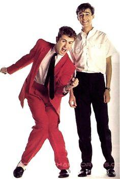 George Michael e Andrew Ridgeley, Wham!