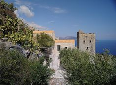 Mani tower, Peloponnese, Greece