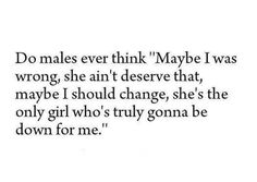 Males think??