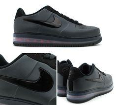 Nike Air Force 1 Foamposite « Black »