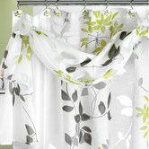 Found it at Wayfair - Mayan Leaf Polyester Shower Curtain