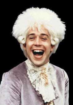 """Tom Hulce as Wolfgang Amadeus Mozart in """"Amadeus"""" Tom Hulce, Movie Shots, I Movie, The English Patient, Mozart, Cinema, Music Humor, Cultura Pop, Great Movies"""