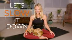 As we build up to #worldmentalhealthday here's a 10 min video to help you slow down, breathe and release some tension in the upper back and neck. Some wholesome puppy content can never go amiss too, amirite? #selfcare #mindfulness #meditate Online Yoga Classes, Mental Health Awareness, Yoga Meditation, Self Care, Breathe, Mindfulness, Content, Let It Be