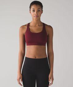 2ca9182fc859d Lululemon energy bra - deep rouge. Yoga Bra, Women's Sports Bras, Bra Straps