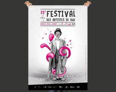 Festival des artistes de rue de Vevey | Echo Graphik