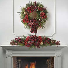 Products in All Wreaths & Garlands, Wreaths & Garlands, Holiday Decor